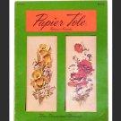 Papier Tole - Three Dimensional Découpage - #500-075 by Patricia Nimocks - 1969