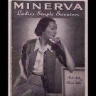 Minerva Ladies Staple Sweaters - Volume 65 - published in 1942