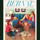 Bernat Fashions And Fun For The Almost Teens - Book Number 59 - 1957
