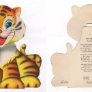 "BIG BEN the Tiger from the Treasure Masters ""Kiddie Toy Circus"" 1948"