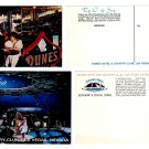 Dunes Hotel 1976 Postcards, Stationery, and Menu