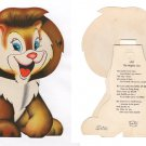 """LEO the Mighty Lion from the Treasure Masters """"Kiddie Toy Circus"""" 1948"""