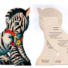 """This is STRIPEY the Zebra from the Treasure Masters """"Kiddie Toy Circus"""" 1948"""