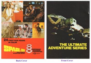 SPACE: 1999 color ad sheet - 1st Season