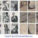 THE MAN FROM U.N.C.L.E. - 1960's Topps Card Set - complete set of 55 cards