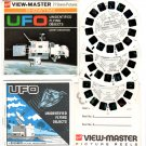 UFO Unidentified Flying Objects Tv Series by Gerry Anderson View-Master set from GAF - 1969