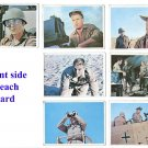 The Rat Patrol trading cards - #11, 15, 33, 38, 41, 47 & 63
