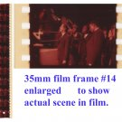 "Man From U.N.C.L.E. Original ""Solo"" 35mm Film Test Strips - 1964"