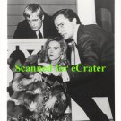 Robert Vaughn, David McCallum & Sharon Farrell - Man From U.N.C.L.E .b/w photo  (VN-960)