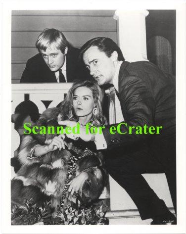 Robert Vaughn, David McCallum & Sharon Farrell - Man From U.N.C.L.E .b/w photo  (VN-960)