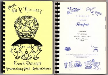 """From The """"Y"""" Auxiliary Cook's Delight cookbook - 1969"""
