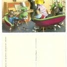 Alfred Mainzer Musical Cat Family Artwork Postcard - number 4892 - never used