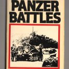 Panzer Battles by Major General F.W. Von Mellenthin