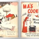 Ma's Cookin' Mountain Recipes - Spiced with mountain customs, sayings, and superstitions