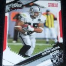 2009 SCORE INSCRIPTIONS JUSTIN FARGAS RED ZONE 11/30 w/FREE SHIPPING!