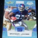 2008 SCORE SUPER BOWL GLOSSY BRANDON JACOBS 142/250 w/FREE SHIPPING!