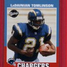 2001 VINTAGE LADAINIAN TOMLINSON ROOKIE w/FREE SHIPPING!