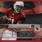2009 DONRUSS GRIDIRON GEAR LARRY FITZGERALD PLAYBOOK 003/100 w/FREE SHIPPING