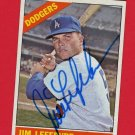 1966 TOPPS JIM LEFEBVRE AUTOGRAPH w/FREE SHIPPING!