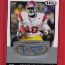 2010 SAGE HIT DAMIAN WILLIAMS AUTOGRAPH w/FREE SHIPPING!