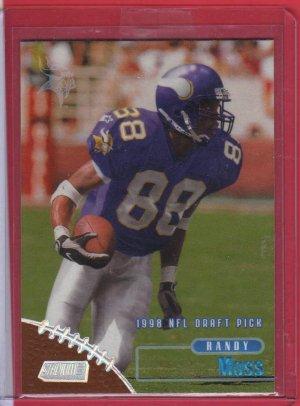 1998 Stadium Club Randy Moss Rookie