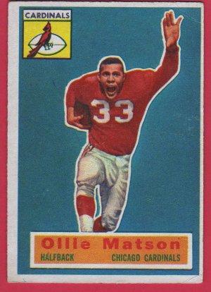 1956 Topps Ollie Matson