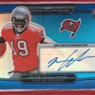 2010 Topps Platinum Mike Williams Autograph 484/599