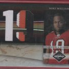 2010 Limited Mike Williams 3 Color Jersey 05/10