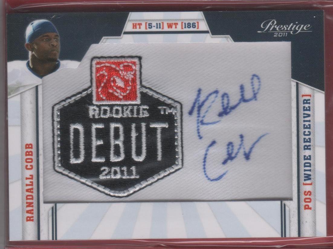 2011 Prestige Randall Cobb Autograph