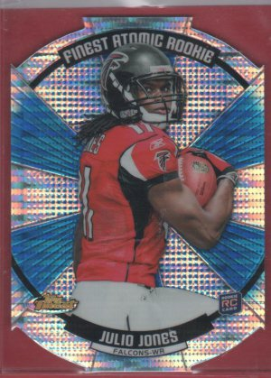2011 Finest Atomic Refractor Julio Jones