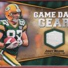 2009 UD Game Day Gear Jordy Nelson GU Jersey