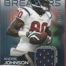 2009 Topps Unique Andre Johnson GU Jersey 053/199