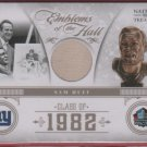 2011 National Treasures Emblems of the Hall Sam Huff GU Jersey 26/47
