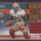 2010 Classics Frank Gore GU Jersey 039/250