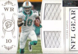2011 National Treasures NFL Gear Clyde Gates 28/99