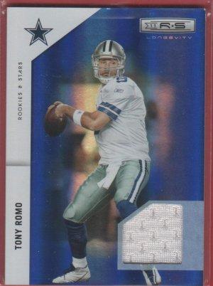 2011 Rookies & Stars Tony Romo 072/100