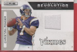 2011 Rookies & Stars Christian Ponder Jersey 079/299