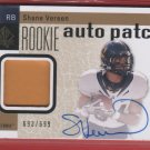 2011 SP Authentic Shane Vereen Auto Patch 693/699