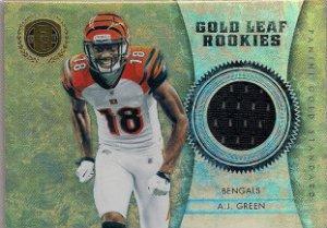 2011 Gold Standard A.J. Green Rookie Jersey 207/299