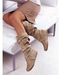 Casual strap calf boot CB275JC