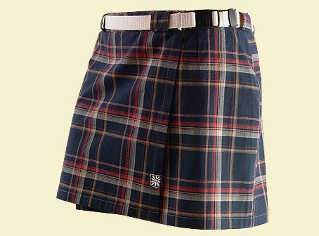 Tartan / checked mini skirt. TM023JW