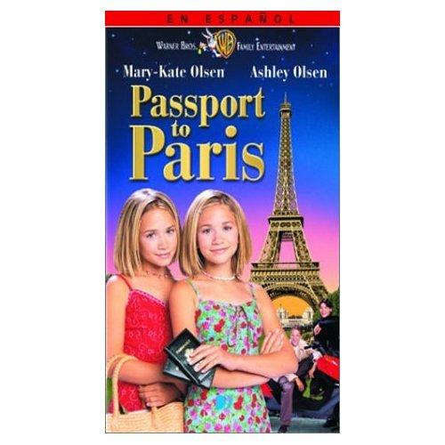 Passport to Paris VHS Tape (1999) Mary-Kate Olsen & Ashley Olsen
