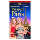 Passport to Paris VHS Tape (1999) Mary-Kate Olsen & Ashley Olsen