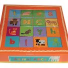 Animal ABCs Alphabet Blocks