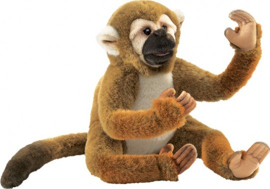 Squirrel Monkey Puppet