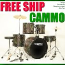 Camo Series Drum!!! free shipping