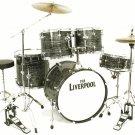 Liverpool 5 piece drum set