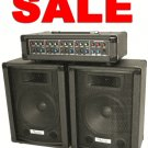Complete PA system..big sound, little package FREE SHIPPING