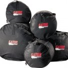 5 Piece Padded Standard Drum Bag Set