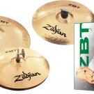 ZBT 3 Cymbal Pack